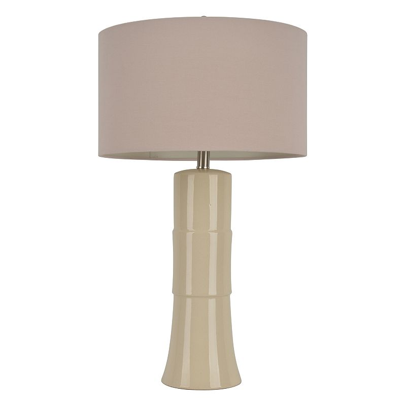 Decor Therapy Crackle Table Lamp