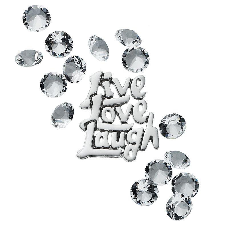 Blue La Rue Crystal Silver-Plated