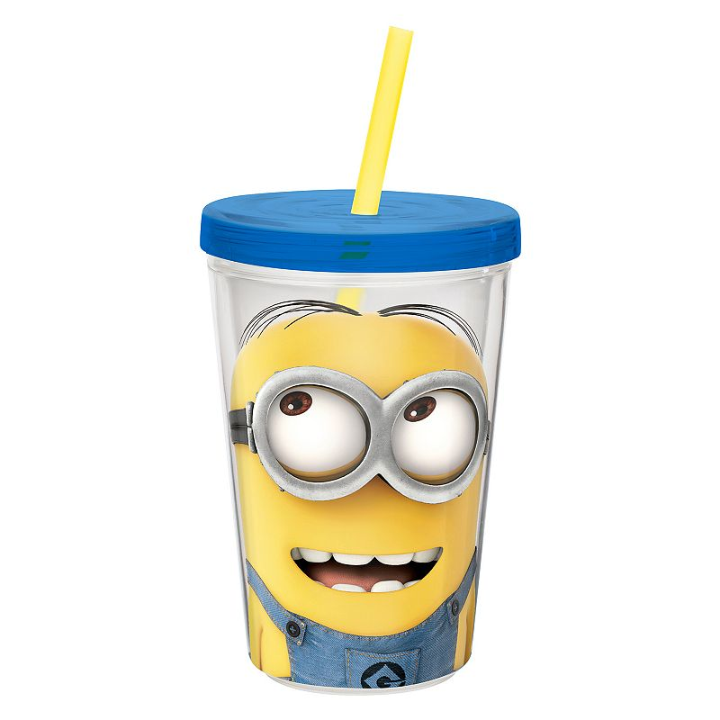 Zak Designs Despicable Me Minions 13-oz. Insulated Straw Tumbler
