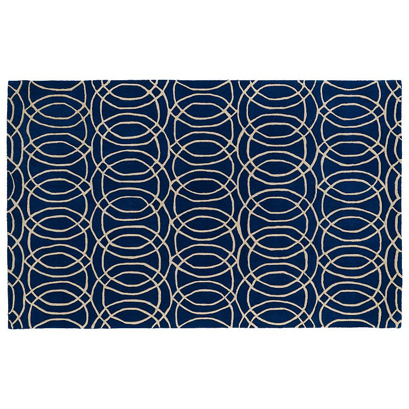 Kaleen Revolution Circles Wool Rug