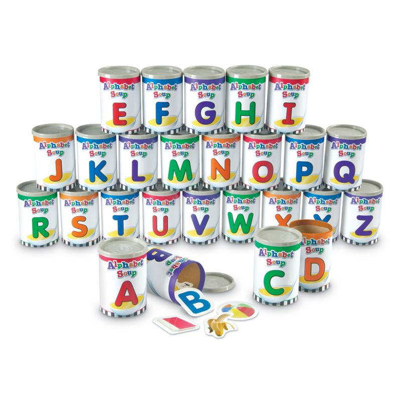 Alphabet Soup Sorter Set by Learning Resources, Multicolor thumbnail