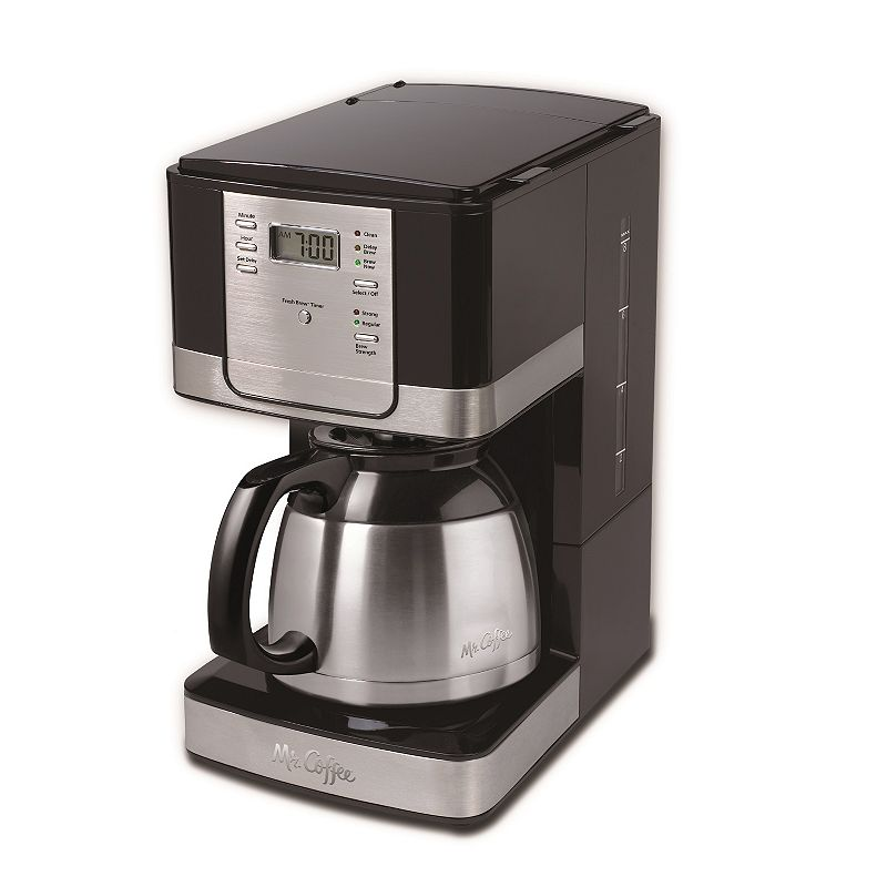 Kohl S One Cup Coffee Maker : Mr. Coffee 8-Cup Thermal Programmable Coffee Maker