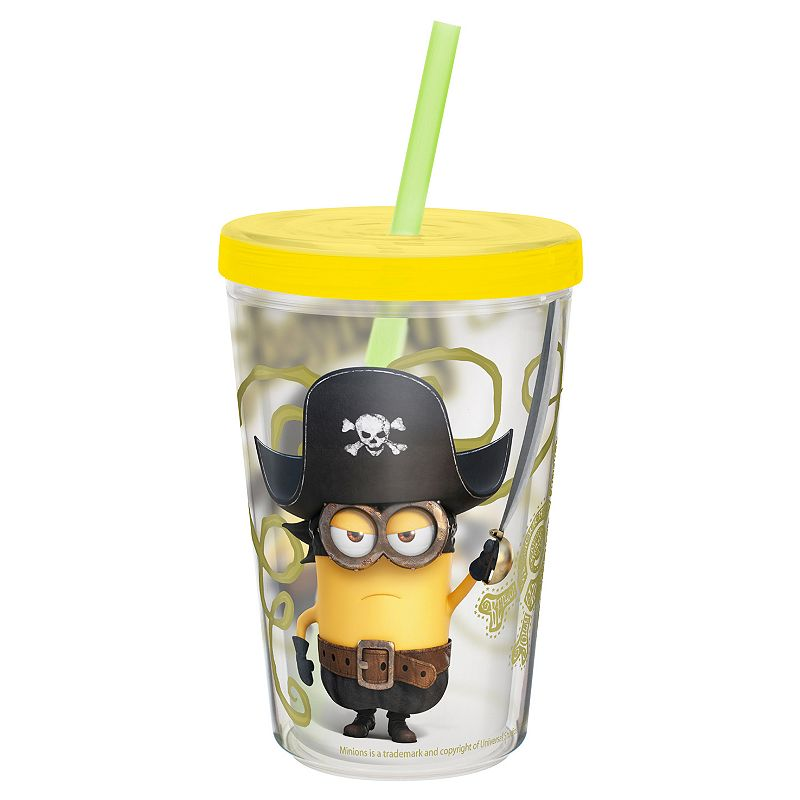 Zak Designs Minions 13-oz. Insulated Straw Tumbler