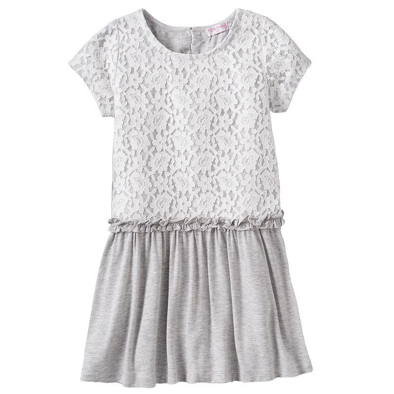 Design 365 Floral Lace Dress - Girls 4-6x
