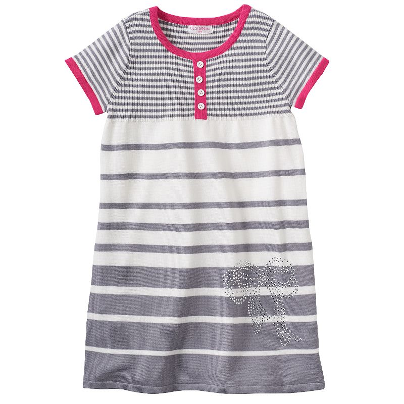 Design 365 Striped Sweater Dress - Girls 4-6x
