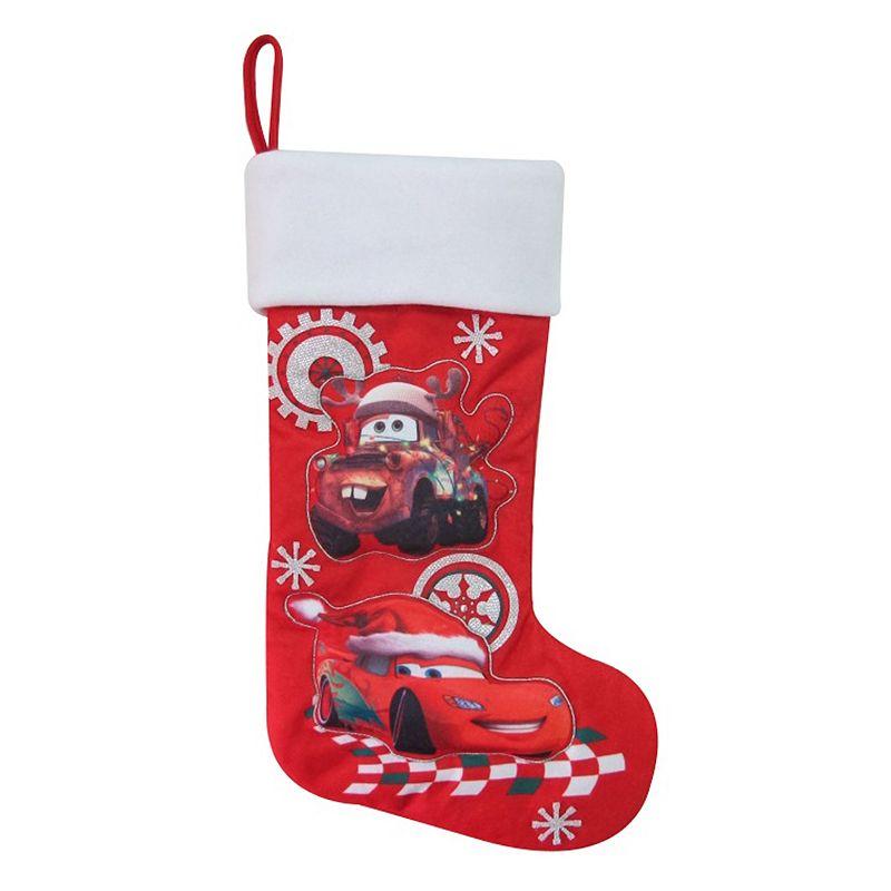 Disney / Pixar Cars Lightning McQueen & Tow Mater Christmas Stocking