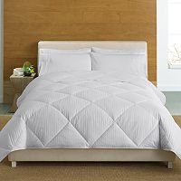 Cuddl Duds 350-Thread Count Level 2 Down-Alternative Comforter