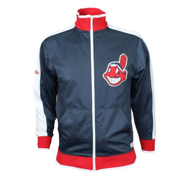 Men's Stitches Cleveland Indians Track Jacket