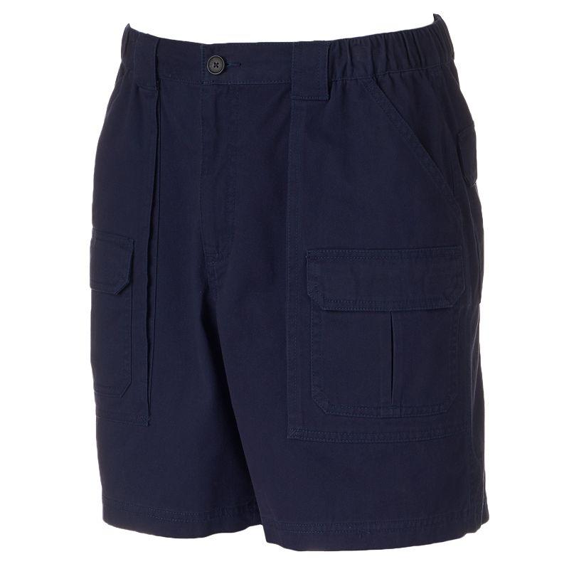 Men's Croft & Barrow® Side Elastic Cargo Shorts