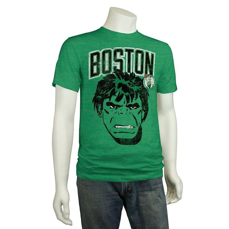Men's Boston Celtics The Hulk Mean Green Tee