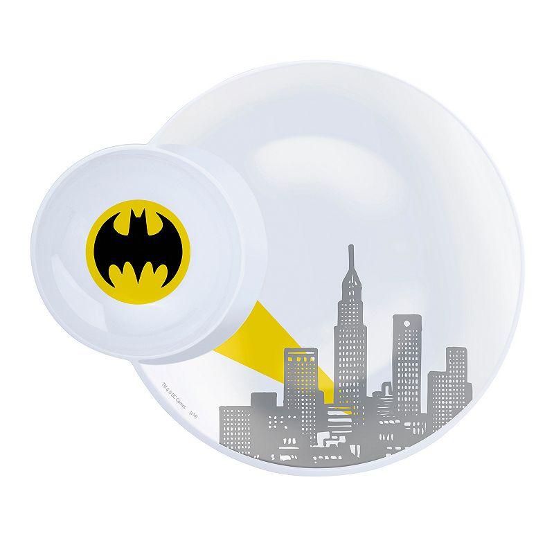 Zak Designs Batman 11-in. Melamine Plate