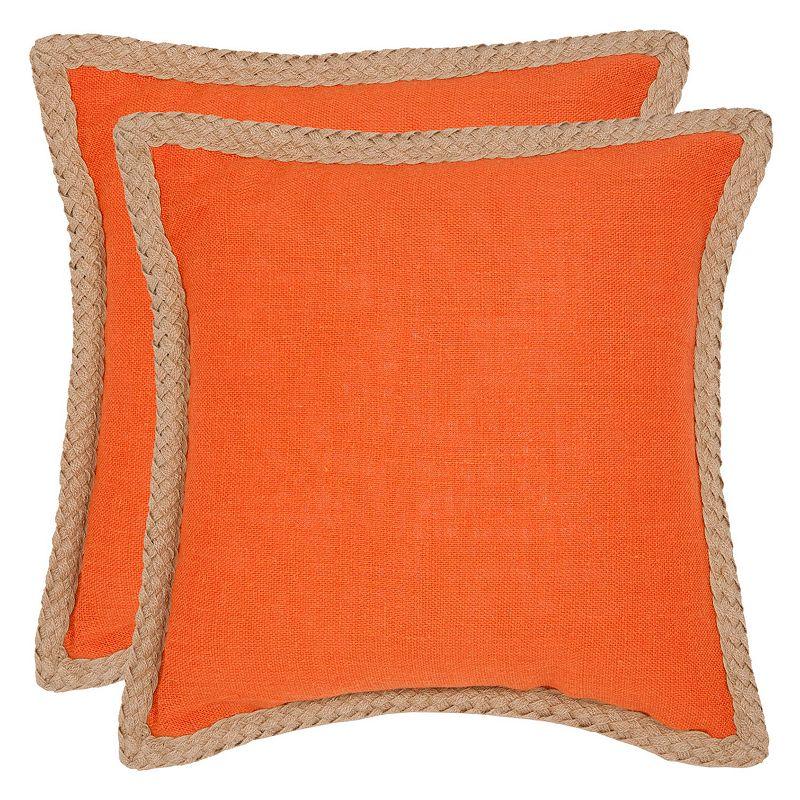 Jute Zippered Pillow Kohl s