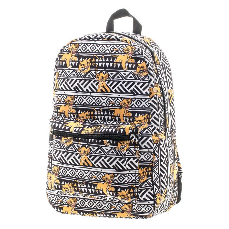 Disney's The Lion King Simba Backpack, White