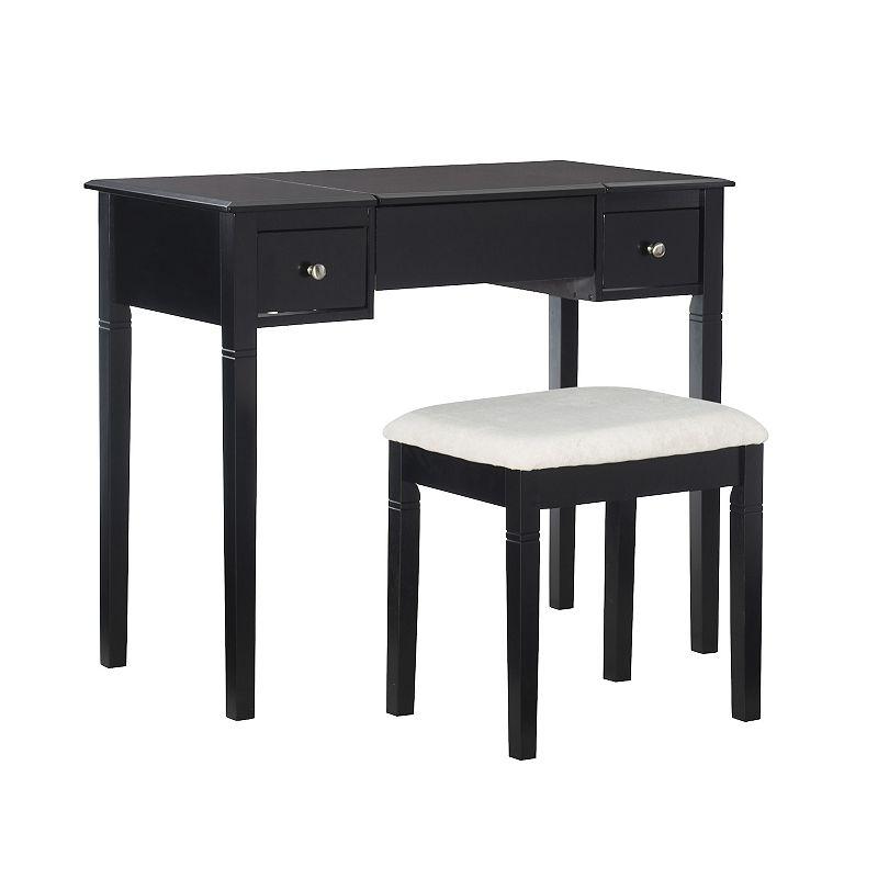 Linon Camden 2-pc. Vanity and Bench Set