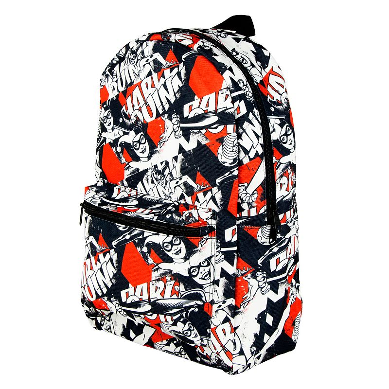 DC Comics Harley Quinn Batman Backpack