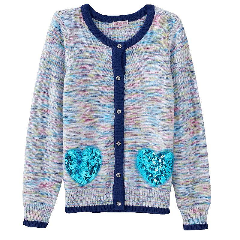 Design 365 Marled Cardigan - Toddler Girl
