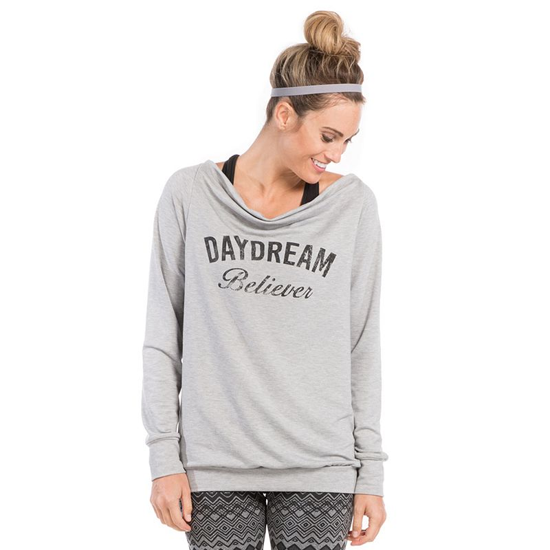 Women's PL Movement by Pink Lotus Daydream Believer French Terry Sweatshirt
