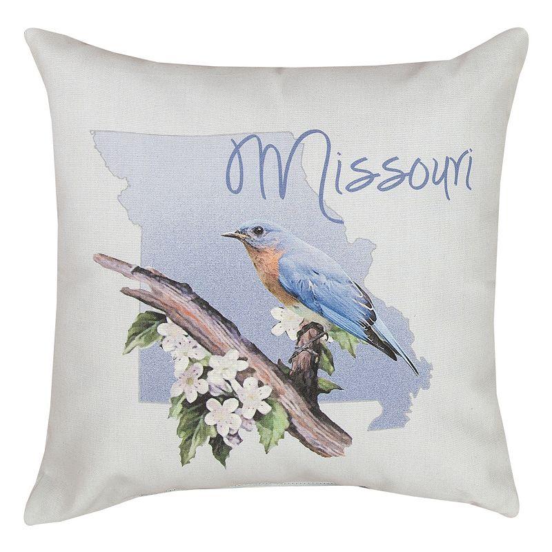 'Missouri'' State Throw Pillow