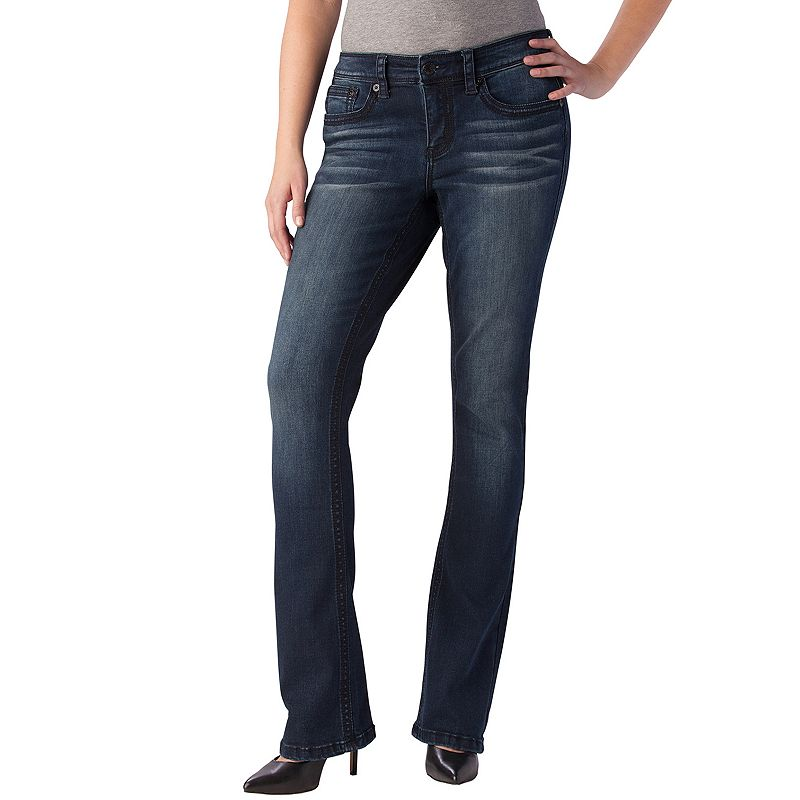 Seven7 Whiskered Bootcut Jeans - Women's