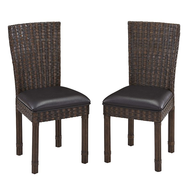 Home Styles Castaway 2-piece Dining Chair Set