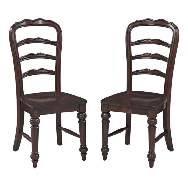 Home Styles 2-piece Colonial Classic Dining Chair Set