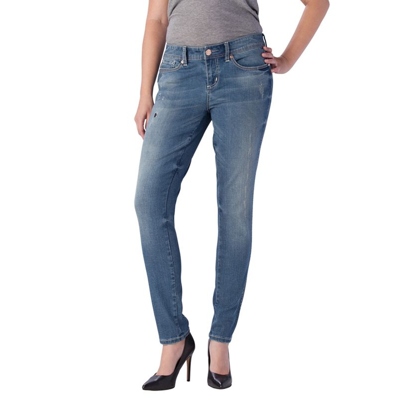 Seven7 Distressed Skinny Jeans - Women's