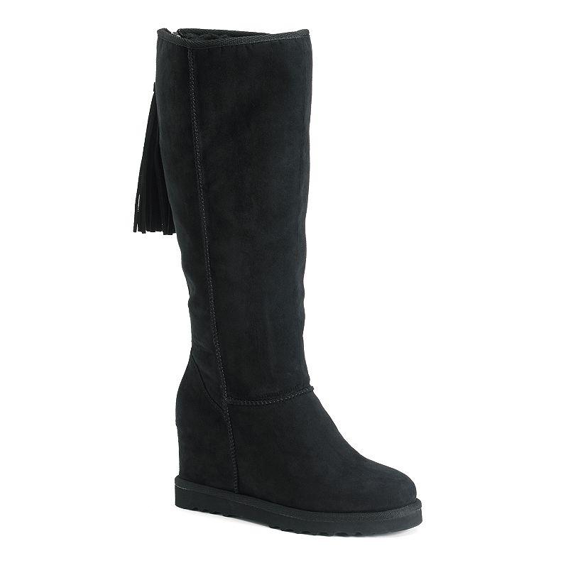Madden Girl Swishin Women's Wedge Boots