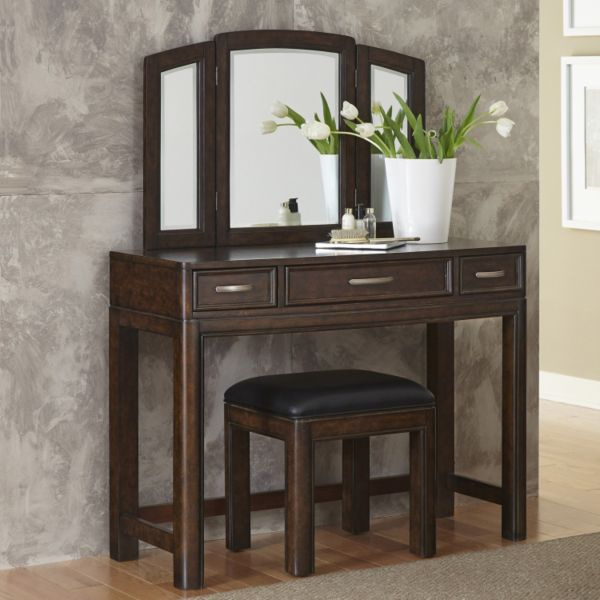 Home Styles Crescent Hill 2-piece Vanity and Bench Set