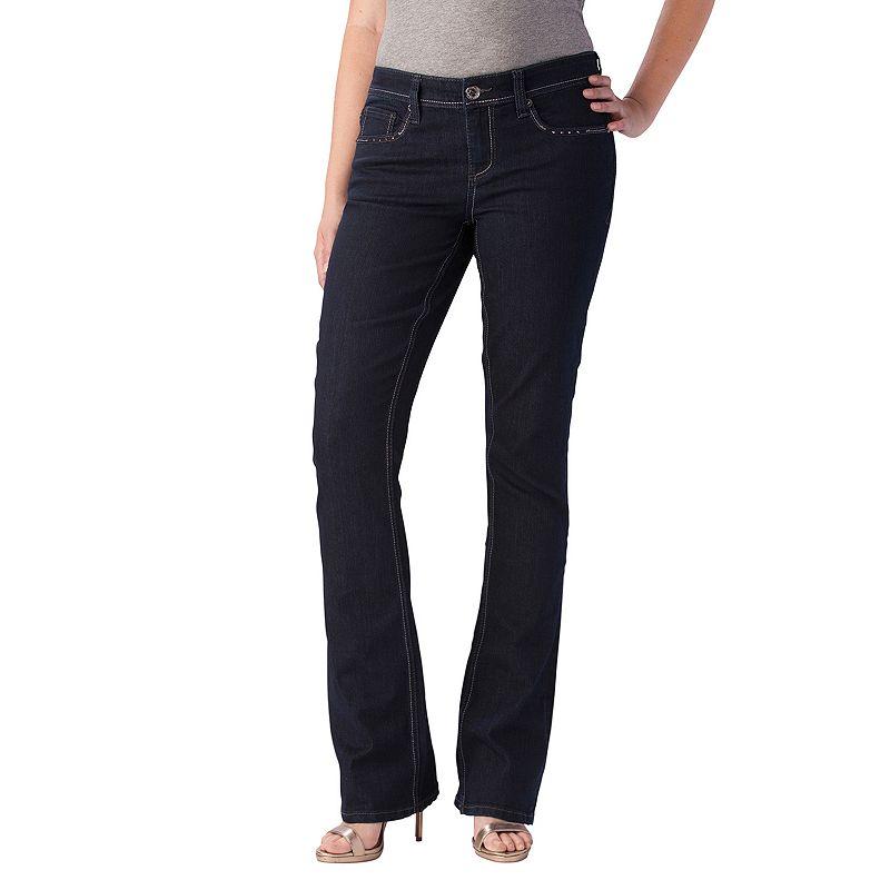 Seven7 Bootcut Jeans - Women's, Size: 4 (Blue)