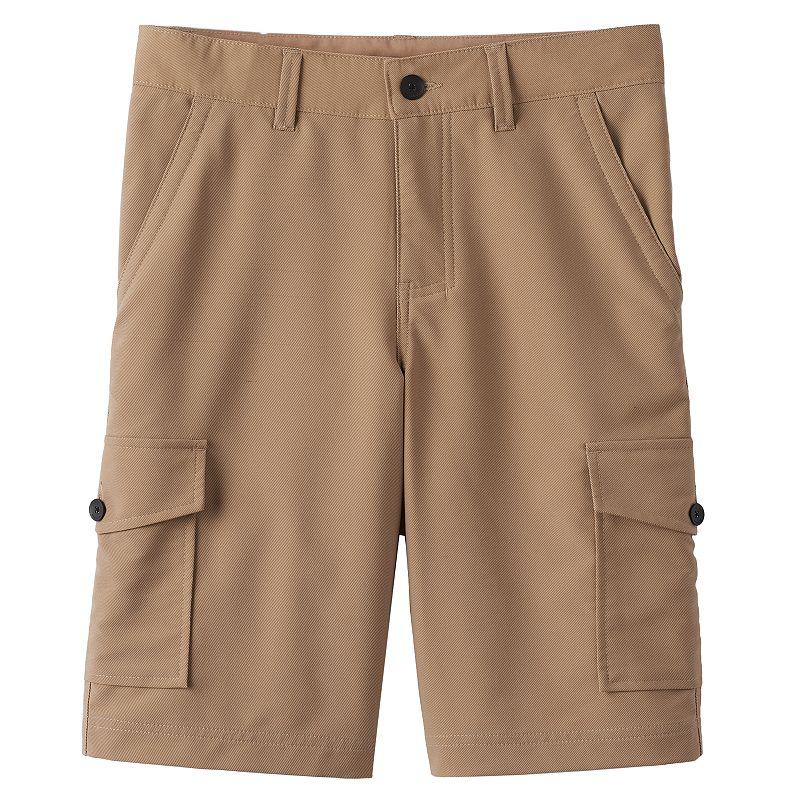 Boys 8-20 Tony Hawk® Solid Textured Performance Cargo Shorts