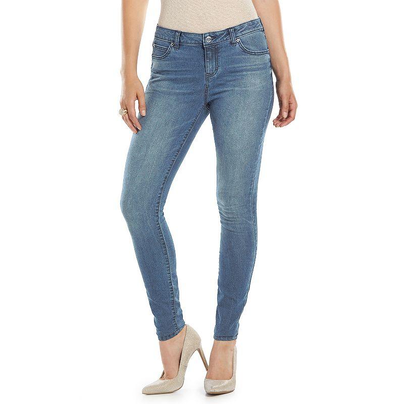 Women's Jennifer Lopez High-Rise Skinny Jeans