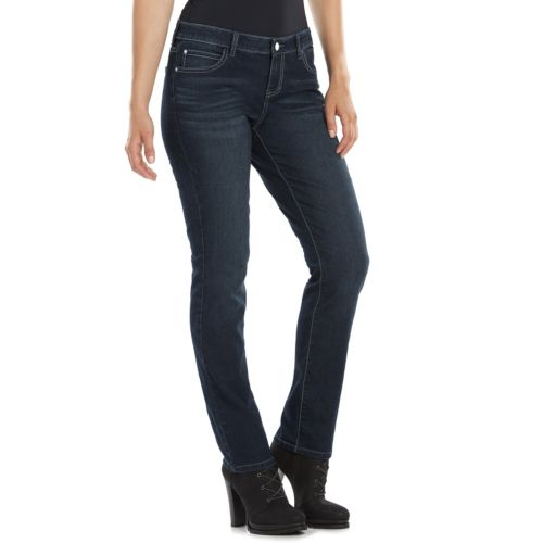 Women's Jennifer Lopez Straight-Leg Jeans