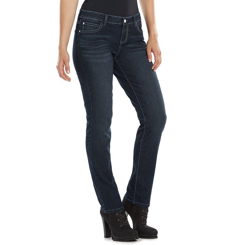 Women's Jennifer Lopez Straight-Leg Jeans