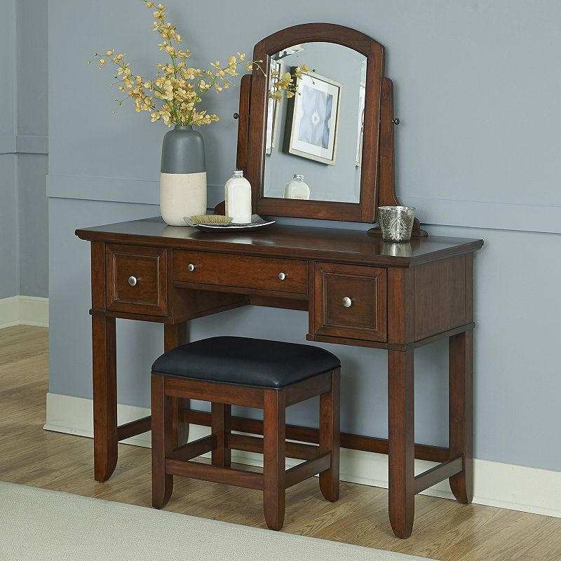 Home Styles 2-piece Chesapeake Vanity and Bench Set