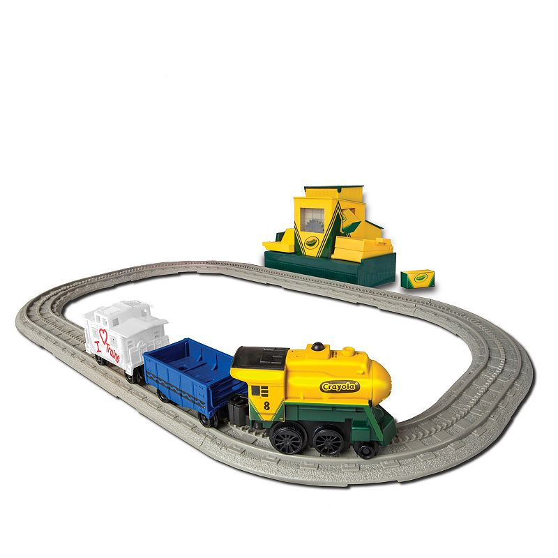 Crayola Non-Powered Playset by Lionel Trains