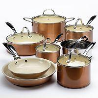 Food Network™ 13-pc. Ceramic Nonstick Cookware Set
