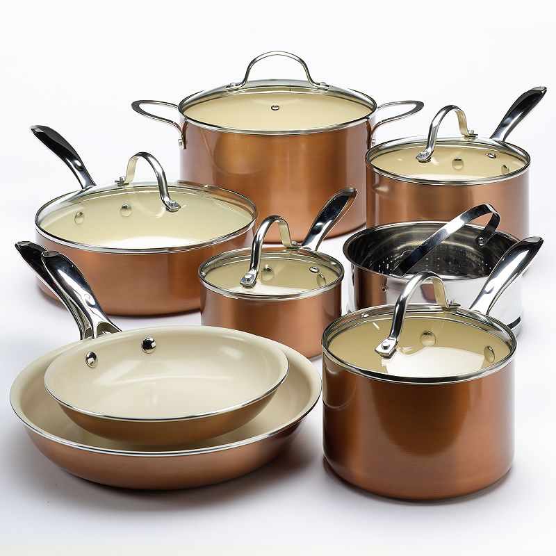 Food Network™ 13-pc. Ceramic Nonstick Cookware Set