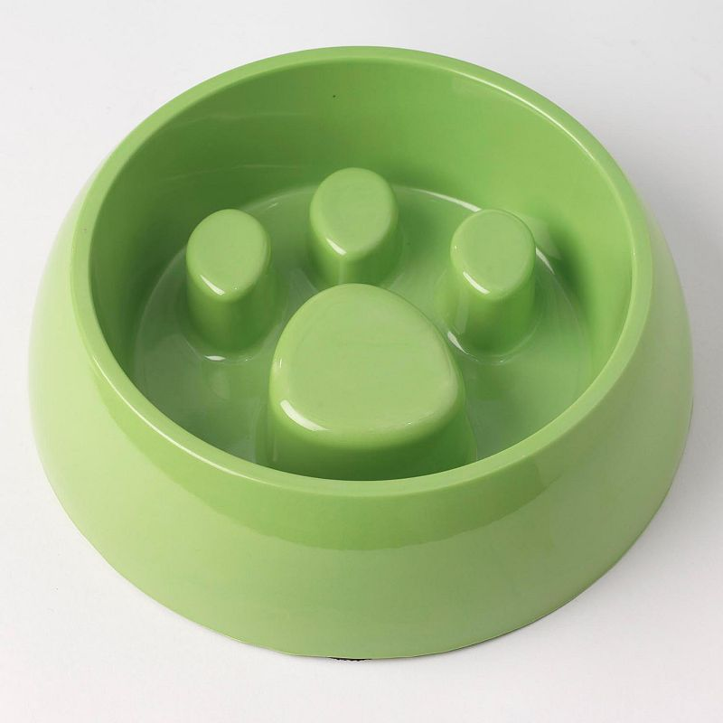 PetRageous Designs 4-Cup Medium Slow Feed Pet Bowl