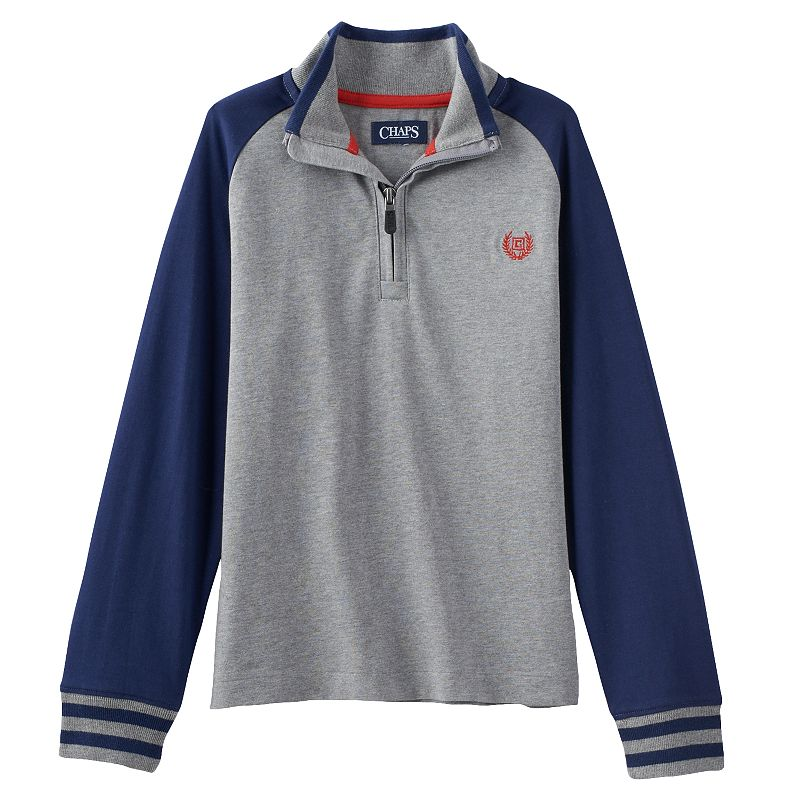 Boys 4-7 Chaps Quarter-Zip Top