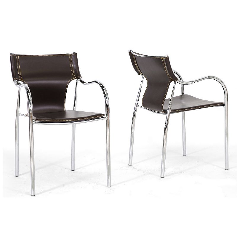 Baxton Studios 2-Piece Harris Modern Dining Chair Set