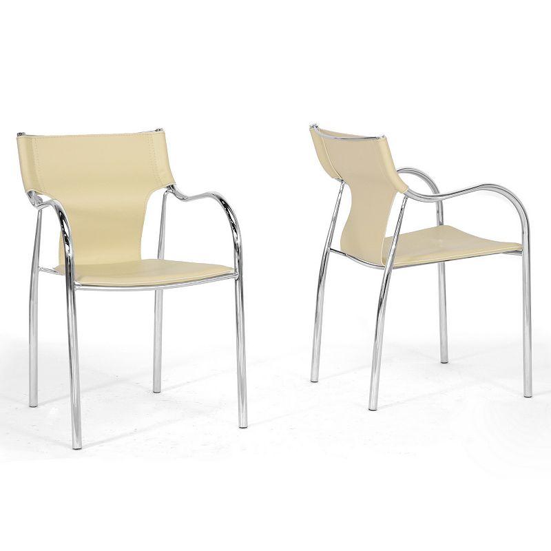 Baxton Studios 2-Piece Harris Modern Dining Chair Set