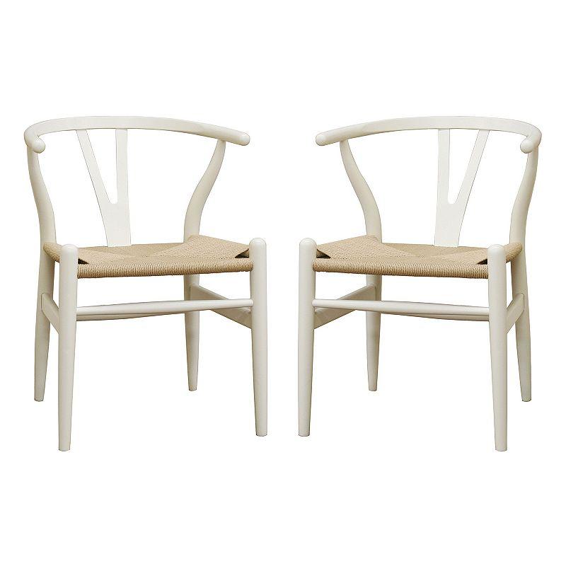 Baxton Studios Wishbone Chair