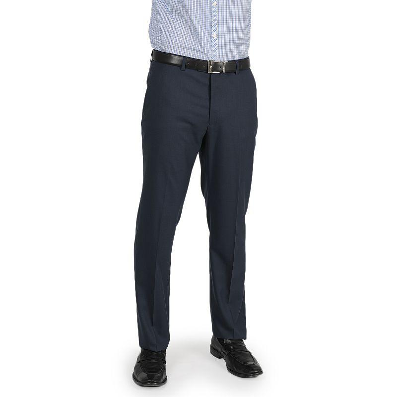Men's Apt. 9® Slim-Fit Cobalt Blue Stretch Flat-Front Suit Pants