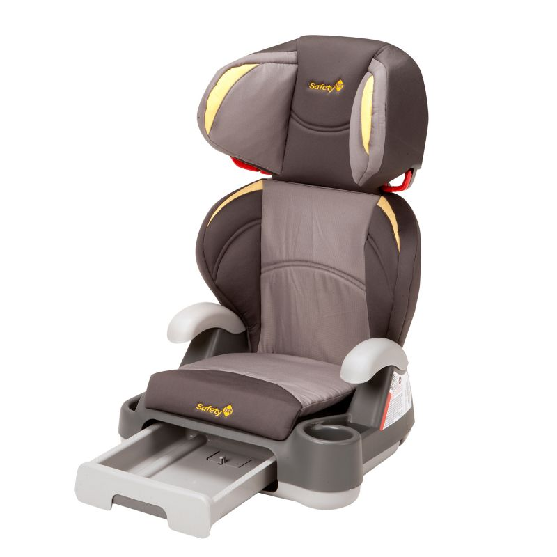 Safety 1st Store 'n Go Booster Car Seat, Yellow