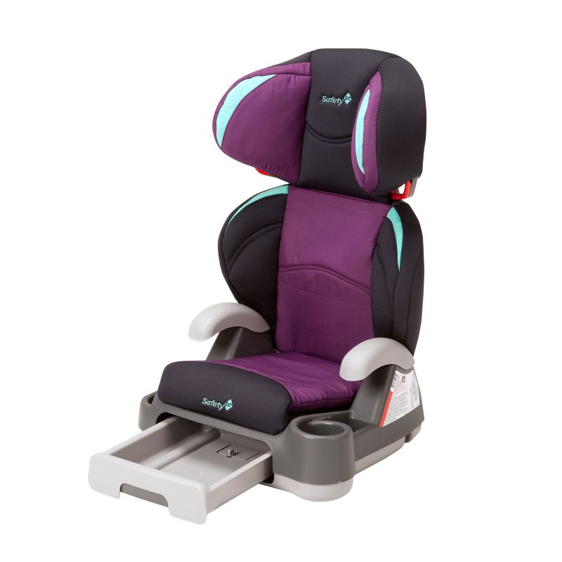 Safety 1st Store 'n Go Booster Car Seat, Purple