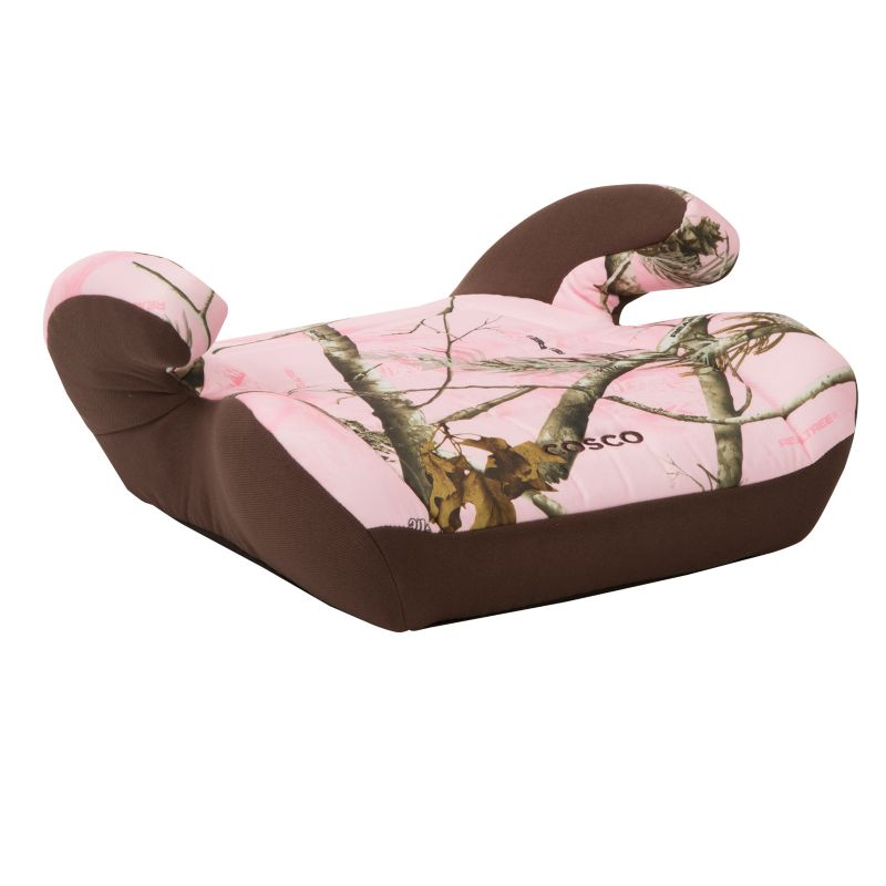 Cosco Camouflage Top Side Booster Car Seat, Pink