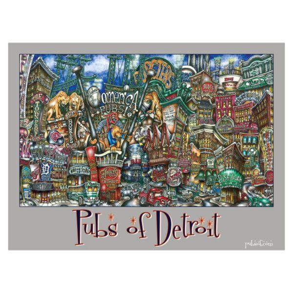 pubsOf Detroit Poster
