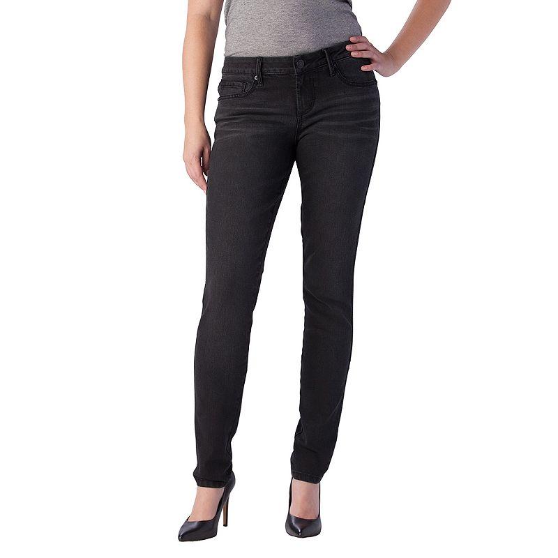 Seven7 Studded Skinny Jeans - Women's, Size: 6, Eclipse Black