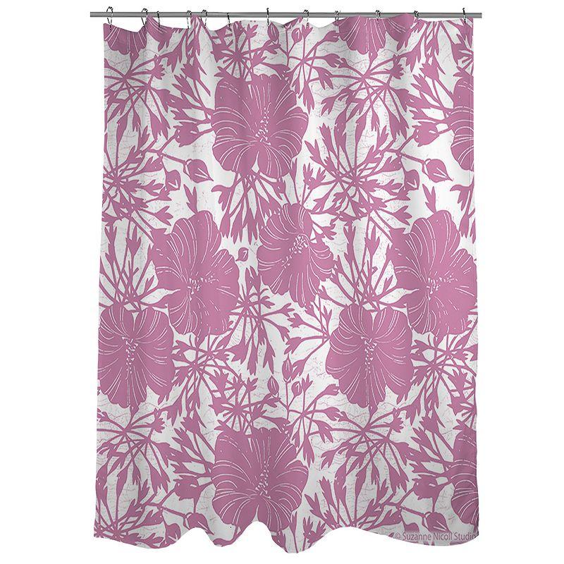 Thumbprintz Koi Fabric Shower Curtain