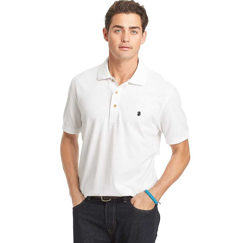 Men's IZOD Oxford Pique Polo